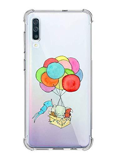 Suhctup Cover per Samsung Galaxy J1Mini / J105, Silicone Bumper Custodia per Galaxy J1Mini Trasparente con Disegni, Antiurto AntiGraffio Case con Shock-Absorption Corner