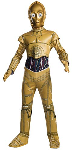 Rubie's Star Wars Child C-3PO Fancy Dress Costume Small