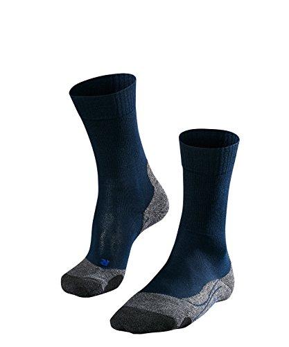 Falke ESS TK2 Cool Chaussettes de Trekking Homme, 1 Paire, Bleu (Marine), 44-45