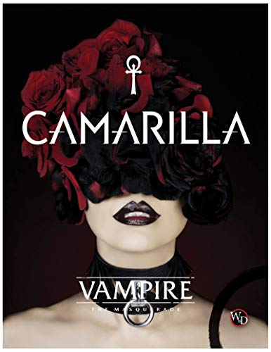 Modiphius Entertainment Role Playing Game Vampire: The Masquerade 5th Ed: Camarilla HC (Book)