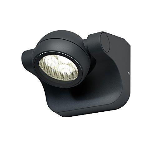 Osram LED Wand- und Deckenleuchte, Leuchte für Außenanwendungen, Warmweiß, 105,0 mm x 114,0 mm x 89,0 mm, Endura Style Hemisphere