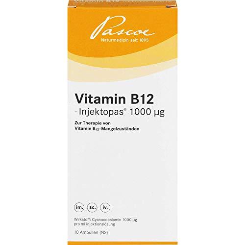Pascoe Vitamin B12-Injektopas 1000 µg Ampullen, 10 St. Ampullen