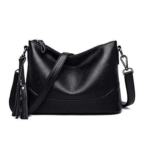 huangyung Casual de un solo hombro pendiente bolso de las mujeres simple atmosférica suave cuero bolso de las mujeres de las mujeres de la bolsa de la mujer de la