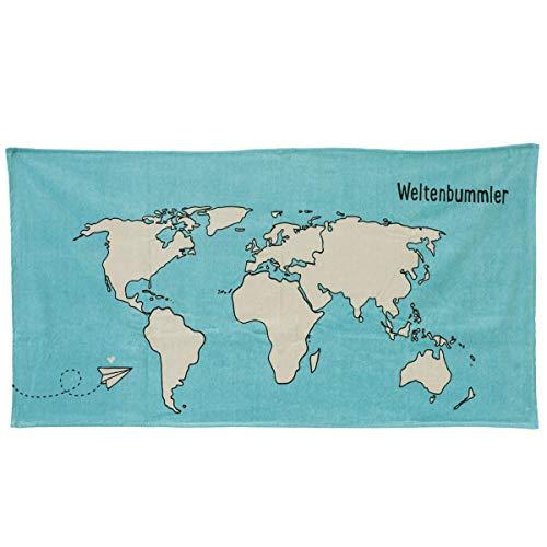 Odernichtoderdoch Handtuch Weltenbummler - 150 x 75 cm