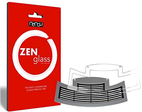 ZenGlass Flexible Glas-Folie kompatibel mit Jura E60 ab 2015 Tropfblech Panzerfolie I Display-Schutzfolie 9H