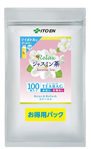 伊藤園 リラックスジャスミン茶 ティーバッグ 1袋 100バッグ