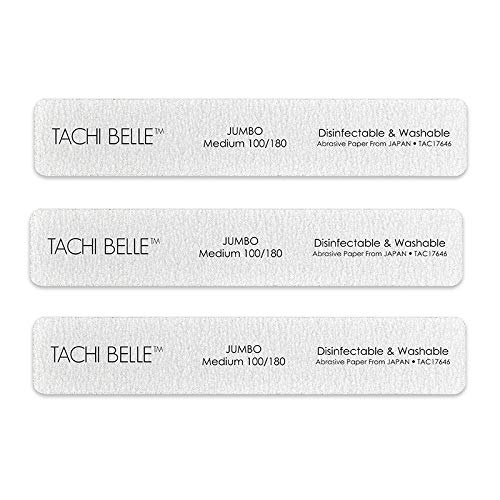 Tachibelle All items free shipping 3 Pcs Premium JAPAN Abrasive Jumbo Washable Industry No. 1 Zebr File
