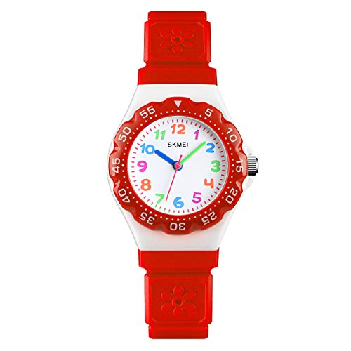 Skmei Kids Boys Girls Children First Watch Easy Tell Time Analogue Learning...