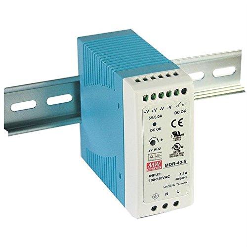 Din-Rail Fuente de alimentación 40W 12V 3,33A ; MeanWell, MDR-40-12