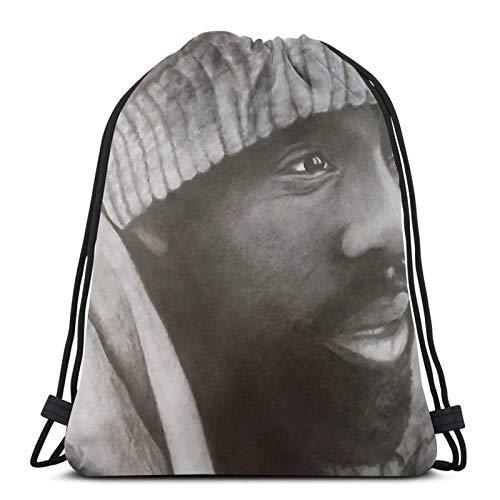 LREFON Gym Bag Idris Elba Fabric Bag,Shoe Bag,Sports Bag,Boys & Girls,Includes Name Print,Customisable