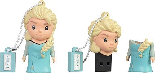 Clé USB 16 Go Elsa - Mémoire Flash Drive 2.0 Originale Disney, Tribe FD026502