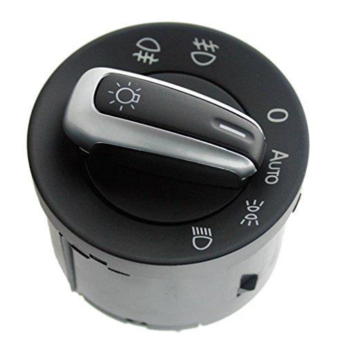 balikha Lámpara Antiniebla del Interruptor de La Luz del Coche para Beetle Golf Black