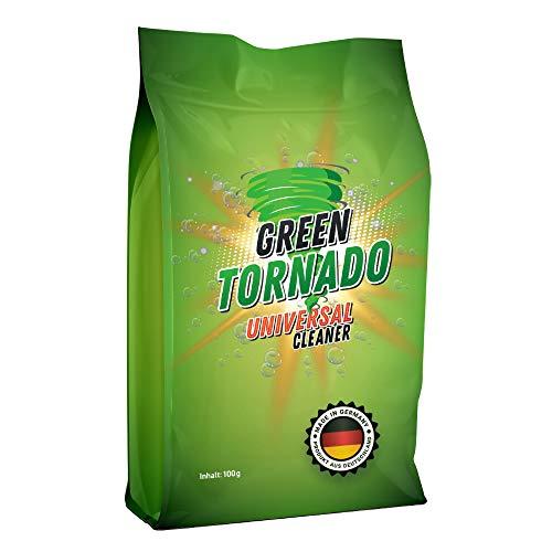 Green Tornado - Abflussreiniger - Magischer Oxygen Reiniger | Schaumreiniger Abflussreiniger Rohrreiniger - Rohrfrei - Ideal für Badewanne, Waschbecken,Dusche, Küche, Bad, Toilette und mehr (1)