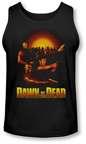 Dawn Of The Dead - - Aube Collage Tank-Top pour hommes, Noir - Noir, Medium