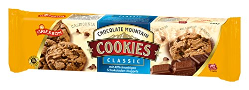 Griesson Chocolate Mountain Cookies Classic, 150 g