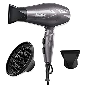 Beauty Shopping 1875W Professional Salon Hair Dryer, AC Motor Styling Tool Blow Dryer, Powerful Negative