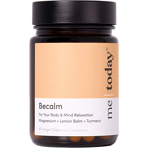 Me | Today BeCalm Daily Supplements | 60 Vegecaps | Essential Daily Minerals & Vitamins for Energy | Made in New Zealand