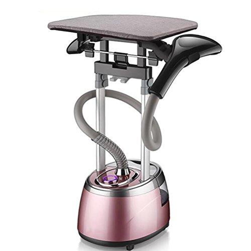 YunXi Dampfglätter, Vertikale Garment Steamer 2.5L 2000W Vertikal und Glatt Bügeleisensysteme Haushalt Kleidung Dampfer, Pink