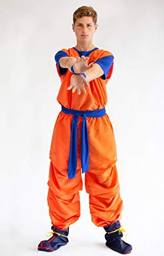 CoolChange Traje Cosplay de Son Goku, tamaño: S: Amazon.es ...