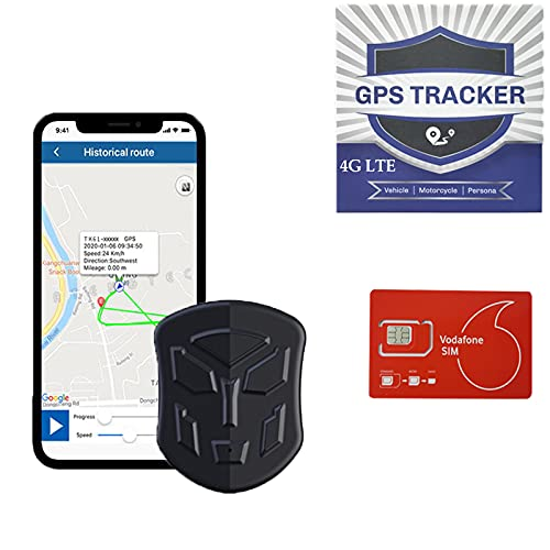 4G LTE GPS Tracker for Vehicles That can Listen to The Sound in Real time,Suitable for GPS Positioning Anti-Theft Tracking Device Units for car,Trucks,Fleet Management,Motorcycles,Pets,Elderly,Child