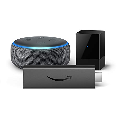 Introducing Fire TV Blaster bundle with Fire TV Stick 4K and Echo Dot (3rd Gen)