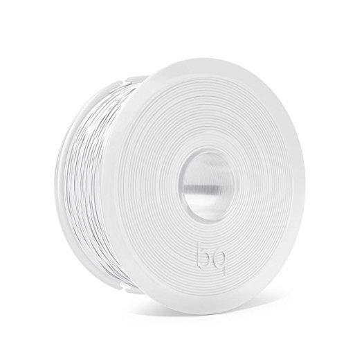 BQ F000152 Filamento PLA Easy Go, 1.75mm, 1 kg, Bianco