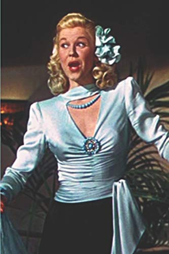 Doris Day Notebook: Journal with blank lined pages for Doris Day Fans