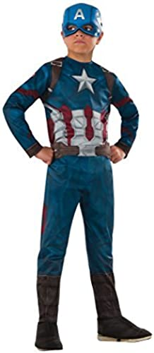 sin mínimo Marvel's Captain America America America  Civil War - Captain America Costume for Kids by Captain america  barato