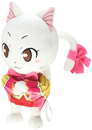 GE Animation Fairy Tail Carla Exceed Cat Stuffed Plush, 8'