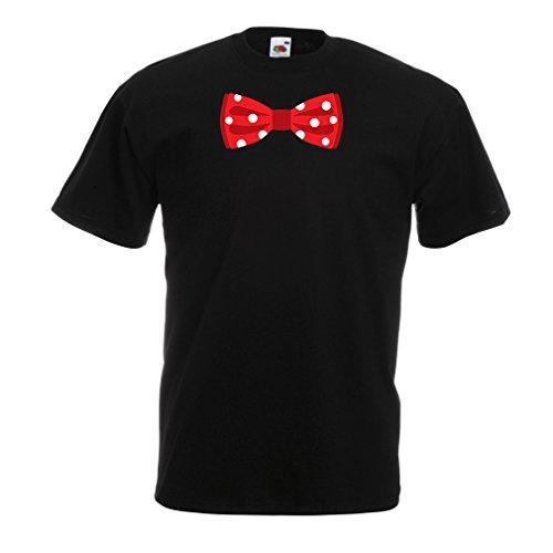 N4551 Männer T-Shirt Look Like a Boss (X-Large Schwarz Mehrfarben)
