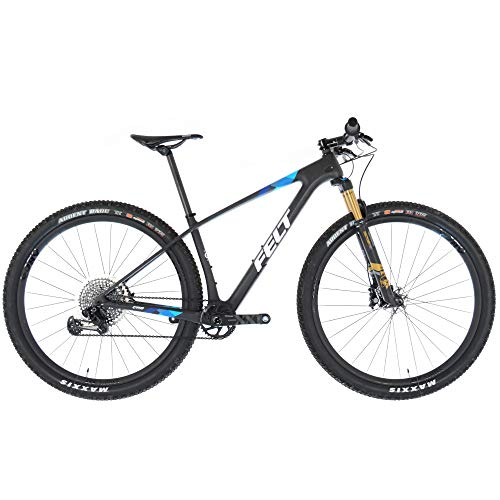 Felt Doctrine Carbon Hardtail XC Cross Country Mountain Bike//Small//Matte Black