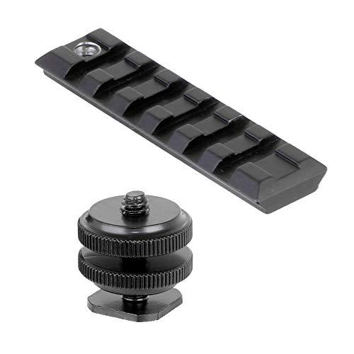 ANS Optical ネジ付きホットシュー ・20mmレイルベースセット バードウォッチング/一眼レフカメラ取付用治具 parts-048
