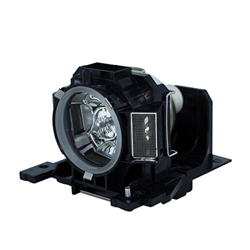 Lutema Hitachi dt00893-p01 - Lámpara de repuesto para proyector DLP/LCD, color negro y gris