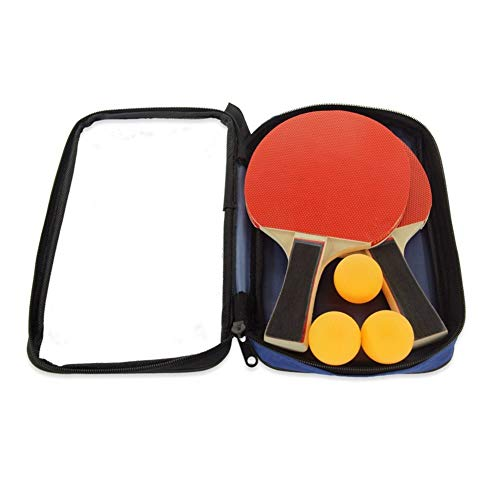 Amazing Deal ZKWSJNGD Training Table Tennis Racket Two Shot Three Balls Table Tennis Racket Penhold ...