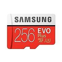 Honelife 電話タブレットCemaraメモリ256ギガバイトEVOプラスMicroSDXC 100メガバイト/秒のUHS-I(U3)クラス10 TFフラッシュメモリカードMB-MC256GA / CN高速