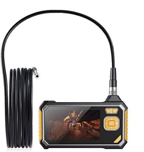 Cavo Semirigido 5M 6 LED Endoscopio Industriale con Scheda TF da 16 GB e Strumenti SKYBASIC 1080P HD Telecamera Ispezione 4.3 Pollici LCD Schermo LCD Boroscopio Snake Telecamera Impermeabile