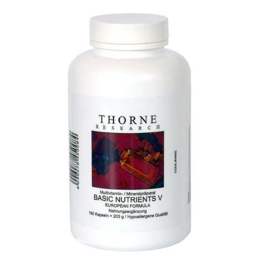 Basic Nutrients VE EU-Formula 178 g 180 Kps von Thorne Research