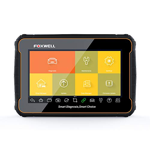 """FOXWELL GT60 Automotive OBD2 Scanner Full System Diagnostics with 24 Service Functions, ABS/EPB/DPF/TPMS/Auto VIN/Oil Reset/Battery Reset/SRS/SAS/CVT, Android 7"""" Tablet Car Diagnostic OBD II Scan Toll"""