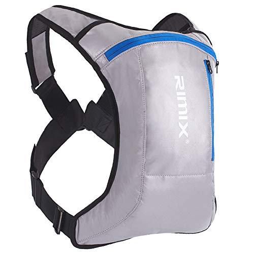 CMZ Backpack Outdoor épaule équitation Sac d'eau Sac à Dos Rechargeable émettant de la lumière réfléchissant sécurité Hommes et Femmes Sac à Dos