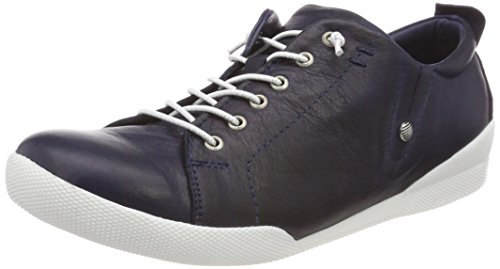 Andrea Conti Damen 0345724 Sneaker, Blau (Dunkelblau 017), 39 EU