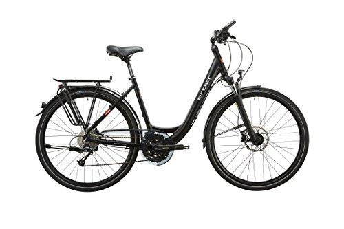 Ortler Wien XXL Damen Schwarz Rahmengröße 60 cm 2018 Trekkingrad