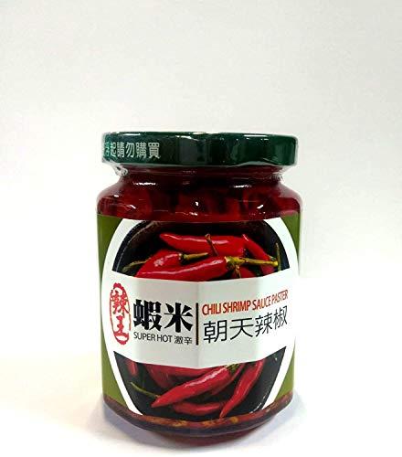 友盛貿易 辣王 蝦米朝天 辣椒 らおう えび辛味調味料 240g ×3個