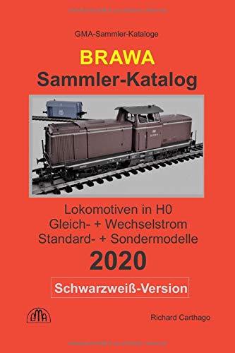 Brawa Sammler-Katalog Lokomotiven in H0 2020 Schwarzweiß-