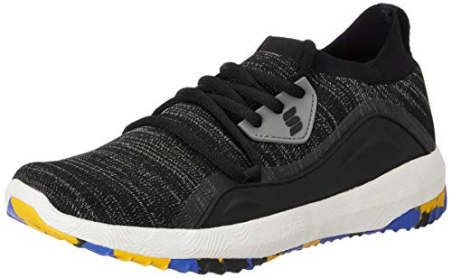 Amazon Brand - Symactive Men's Black Running Shoes-8 UK (SYM-YS-012A)