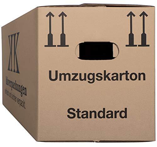 20 Umzugskartons Basic 640 x 300 x 340mm