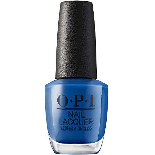 OPI Nail Lacquer, Mi Casa Es Blue Casa, Blue Nail Polish, Mexico City Collection, 0.5 fl oz