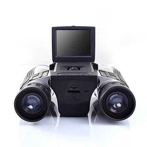Dadiao Telescopio Digital FS608, binoculares de Pantalla Ancha multifunción de Tomar Fotos y Hacer Videos de prismáticos Civiles para Cazar al Aire Libre en un Concierto para Adultos