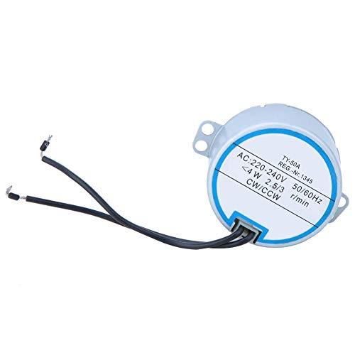Synchroonmotor, TY-50A 220-240V hoogwaardige op afstand bestuurde synchroonmotor voor bewegende ventilatoren, verwarmingen, luchtreiniger, automatische handdroger