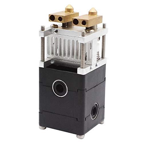 Nrpfell 3D Drucker UM2 für Ultimaker 2 Doppel Extrusion Kit 2 Doppel Kopf Extruder für 3,00 Mm für Ultimaker 2 0,4 Mm DüSe