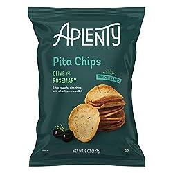 Aplenty, Olive and Rosemary Pita Chips, 8 oz